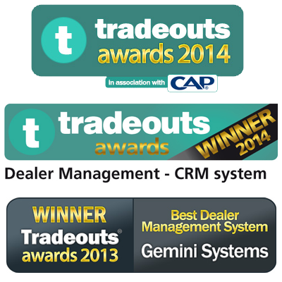 Gemini Systems Voted Best DMS for second year running